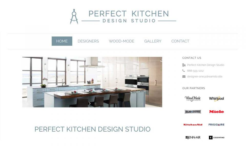 Perfect Kitchen core.Coco Website Style